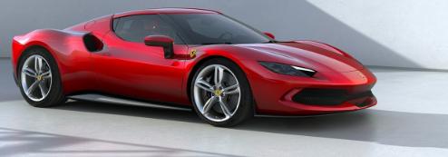 法拉利推出全新V6跑车296GTB