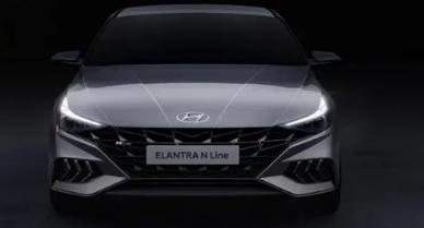 现代汽车公司首次展示了现代伊兰特N这是其高性能N系列的最新产品