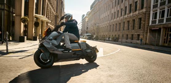 宝马推出售价11795美元的未来派CE04电动滑板车续航里程为80英里