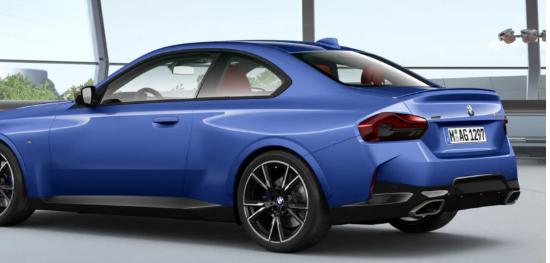 向我们展示您将如何配置2022款宝马2系双门轿跑车