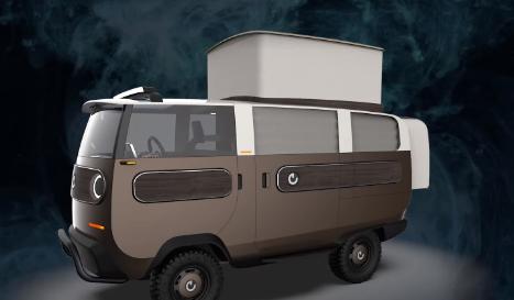 XBUS是一款采用模块化设计的可爱电动小型卡车