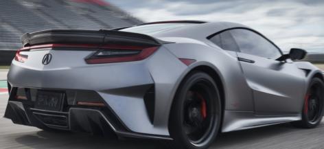 2022年讴歌NSXTypeS是一款600马力的特殊车型