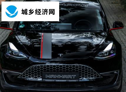 Manhart以9万美元的价格提供543马力的特斯拉Model3性能和格栅贴花