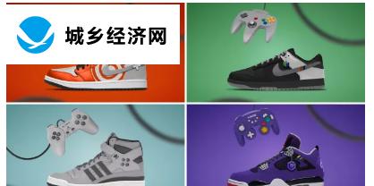 这些复古游戏风格的鞋子值得更多的镜头